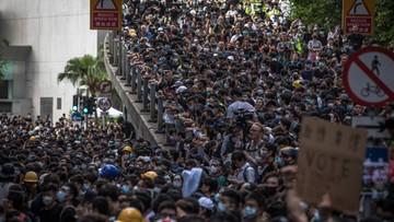 W Hongkongu kolejne protesty po postrzeleniu nastolatka przez policję