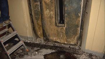 Ktoś podpalił windę w bloku. Dymem podtruło się 11 osób