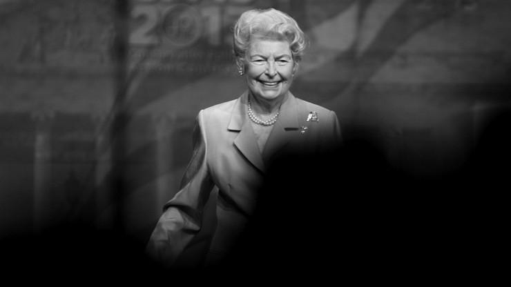 """Zmarła """"matka - założycielka"""" współczesnego konserwatyzmu amerykańskiego"""