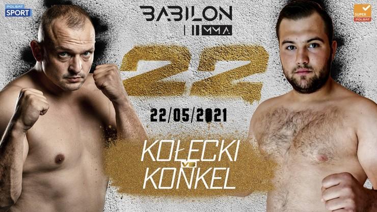 Babilon MMA 22: Sylwester Kołecki - Konrad Konkel w karcie walk