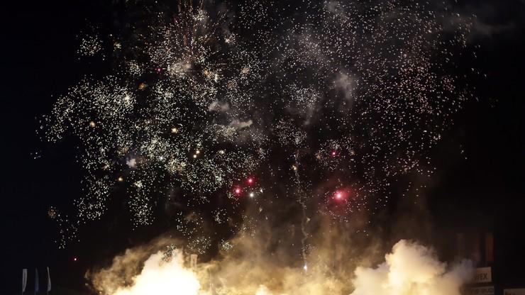 Sylwester na stadionie w Sosnowcu! Mecz Zagłębie - Legia przerwano przez... fajerwerki (WIDEO)