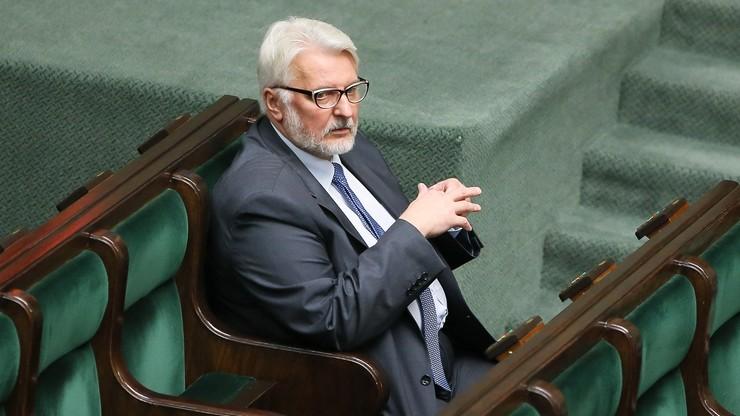 Waszczykowski ws. Caracali: Francuzi nie przedstawili oferty korzystnej dla polskiego interesu