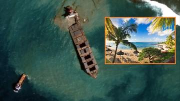 Ekologiczna katastrofa. Koniec wakacji na Mauritiusie. Kapitan tankowca aresztowany