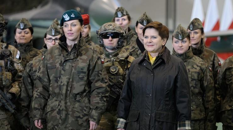 Kobiety w armii od 8 marca mają swoją pełnomocnik