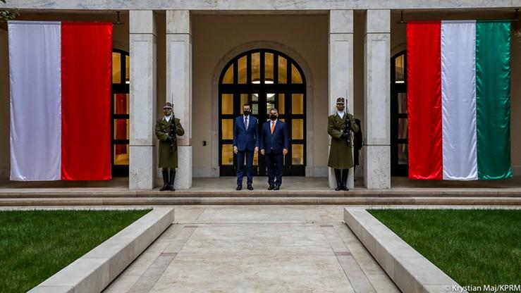 Morawiecki w Budapeszcie. Wspólna deklaracja Polski i Węgier