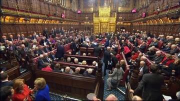 Długa droga do Brexitu. Izba Lordów spróbuje narzucić rządowi swoje warunki