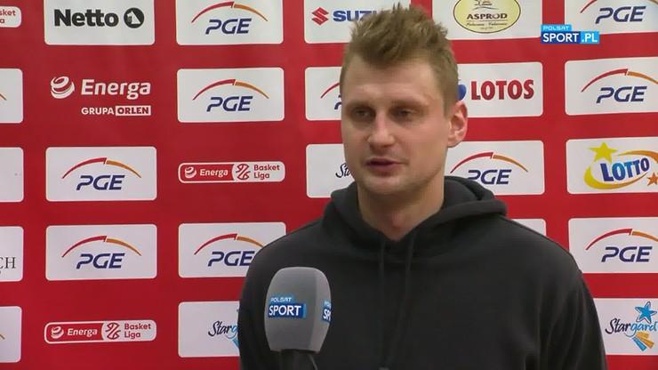 Mateusz Kostrzewski: Zgubił nas pośpiech przy rzutach za trzy