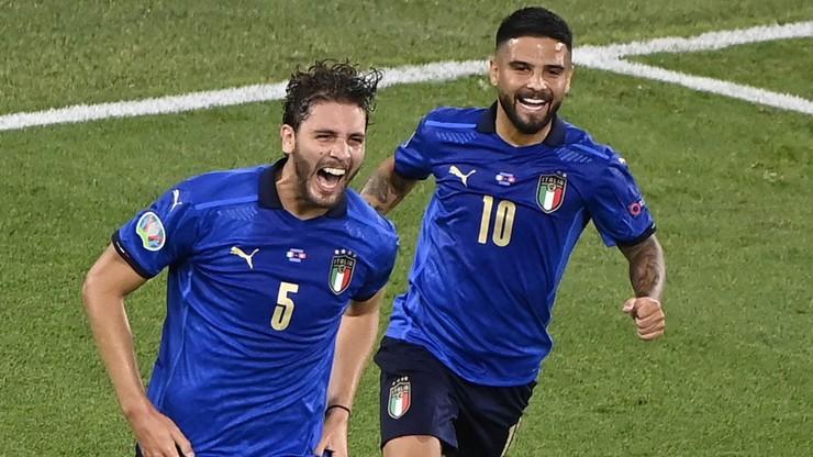Euro 2020: Włochy - Szwajcaria 2:0. Gol Manuela Locatellego