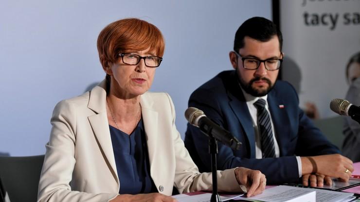 """Minister Rafalska zapowiada wzrost zasiłków od listopada. """"Próbujemy zniwelować różnicę"""""""