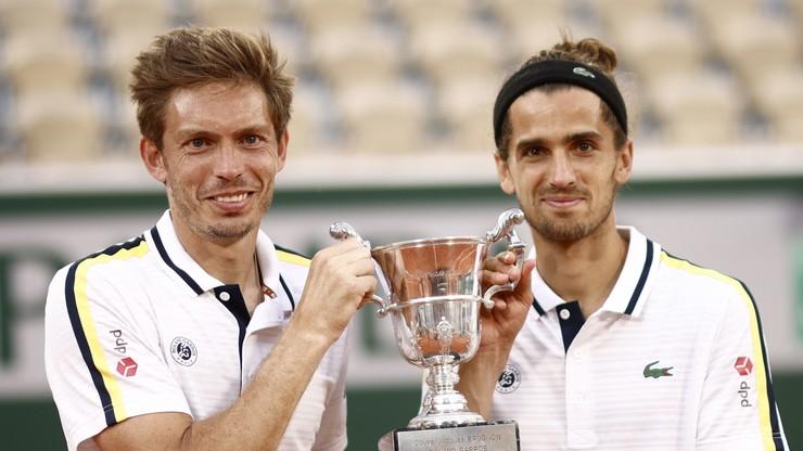 Roland Garros: Nicolas Mahut i Pierre-Hugues Herbert po raz drugi najlepszym deblem w Paryżu
