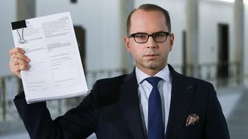 Poseł Szczerba zaskarżył Polskę za wykluczenie z obrad