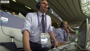 Kolejne show islandzkiego komentatora! Znów dał popis swoich umiejętności