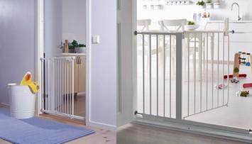 Uwaga rodzice! Ikea wycofuje barierkę na schody, która miała chronić dzieci przed upadkiem