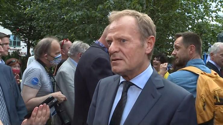 Tusk ujawnił, co powiedziałby Kaczyńskiemu podczas spaceru