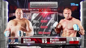 Mariusz Pudzianowski - Nikola Milanovic. Skrót walki