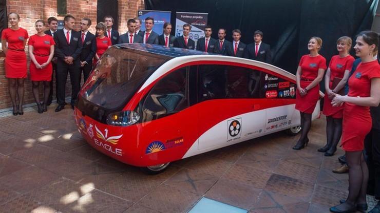 Eagle One z Łodzi - zasilany słońcem samochód we wrześniu będzie ścigał się w RPA