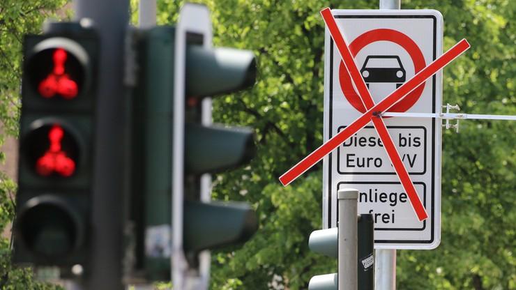 Pierwsze miasto w Niemczech zakazuje wjazdu Dieslom. Na razie na dwie ulice