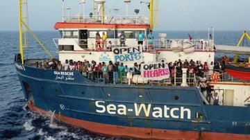 Migranci ze statku Sea Watch 3 trafią do pięciu krajów, kapitan aresztowana
