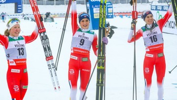 PŚ w biegach: Therese Johaug wygrała bieg łączony