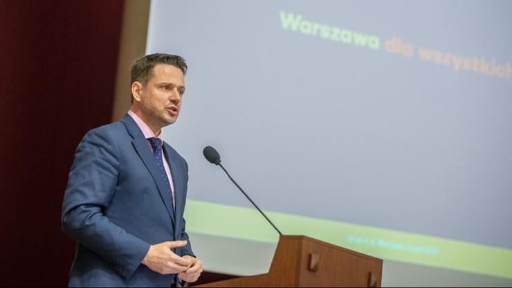 Trzaskowski spotka się z Karczewskim ws. odbudowy Pałacu Saskiego
