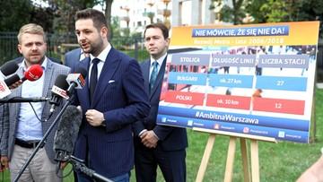 Patryk Jaki jedzie do Sofii. Porówna polskie i bułgarskie metro