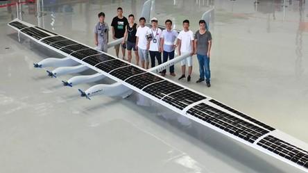 Chiny zaprezentowały swój nowy solarny samolot na czas kataklizmów