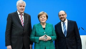 """Merkel zadowolona z umowy koalicyjnej. """"Rozmowy były trudne, ale było warto"""""""