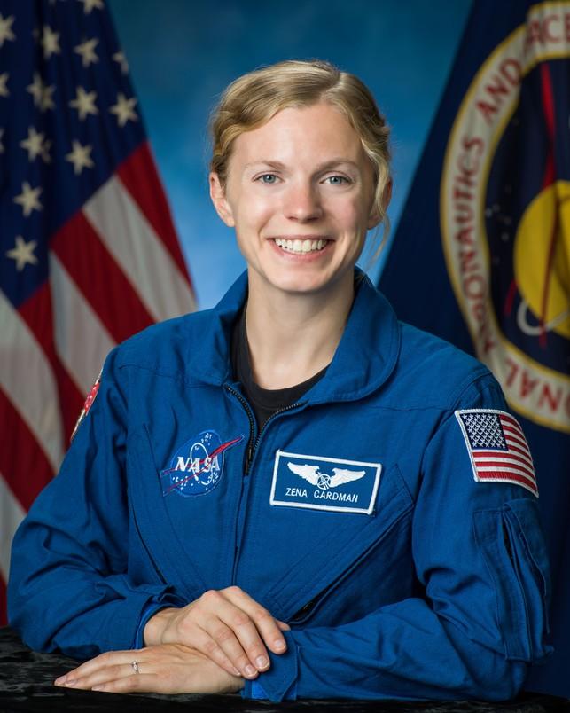 Zena Cardman ma szanse polecieć na Marsa