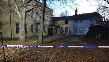Trzy osoby zginęły w pożarze pustostanu na Mazurach