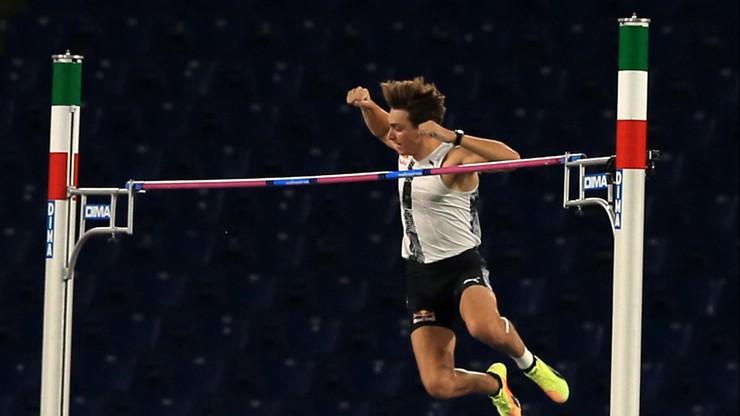 Armand Duplantis poprawił rekord świata w skoku o tyczce