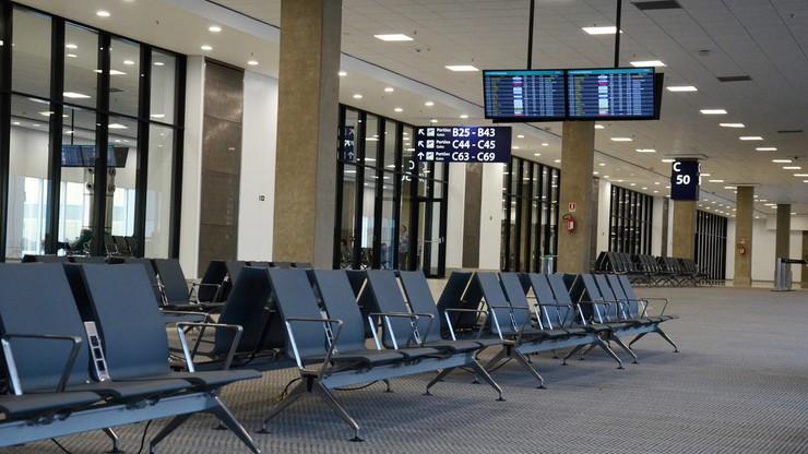 Śląskie. Gruzin uciekał przed Strażą Graniczną po dachu lotniska w Pyrzowicach