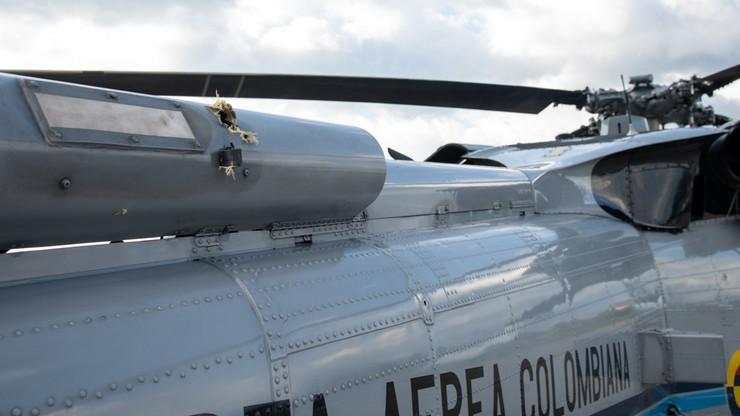Kolumbia. Prezydencki helikopter ostrzelany w pobliżu granicy z Wenezuelą