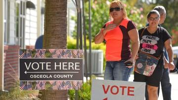Trump bierze głosy z Kentucky, Indiany i Wirginii Zachodniej. Apeluje o głosowanie na Florydzie.