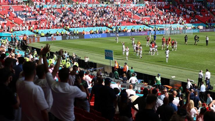 Euro 2020: Finał na Wembley będzie mogło obejrzeć 45 tysięcy widzów