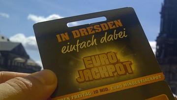 90 mln euro - w Niemczech wyrównano rekord wygranej w loterii Eurojackpot