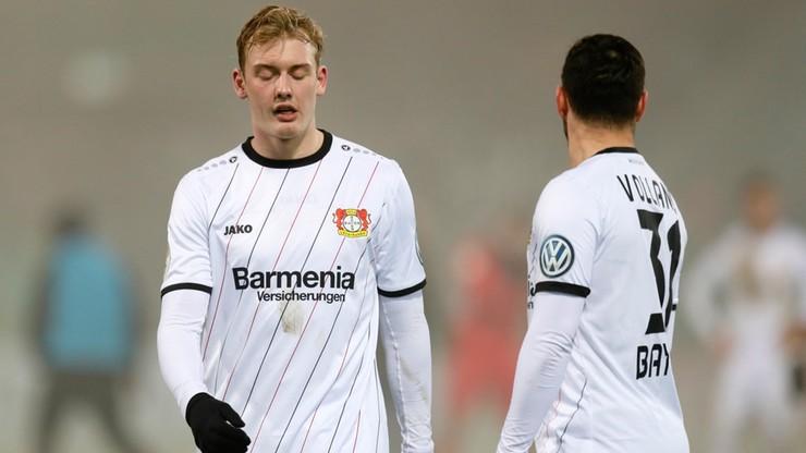 Puchar Niemiec: Bayer Leverkusen sprowadzony na ziemię przez drugoligowca