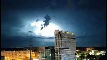 Nadchodzą silne burze z gradem. Ostrzeżenia IMGW