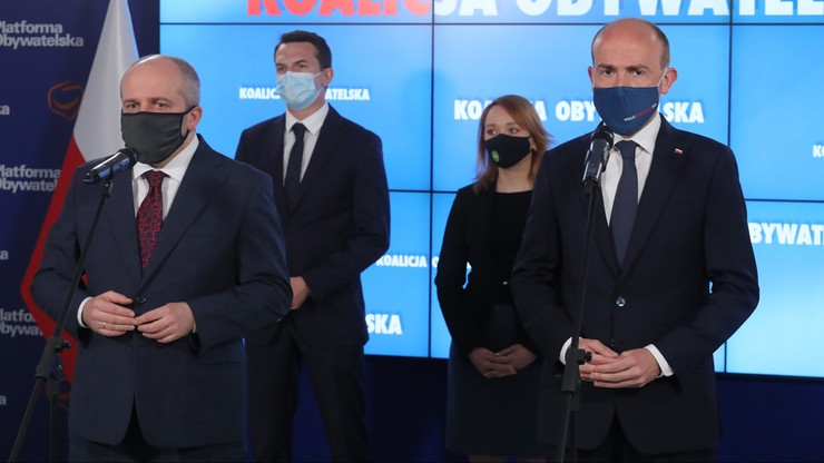 Sytuacja na Ukrainie. Koalicja Obywatelska żąda zwołania Rady Bezpieczeństwa Narodowego