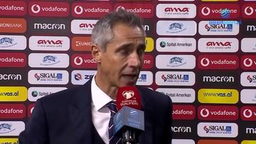 Wypowiedź Paulo Sousy po meczu Albania - Polska