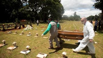Brazylia: niemal 2,5 tys. ofiar śmiertelnych koronawirusa w ciągu ostatniej doby