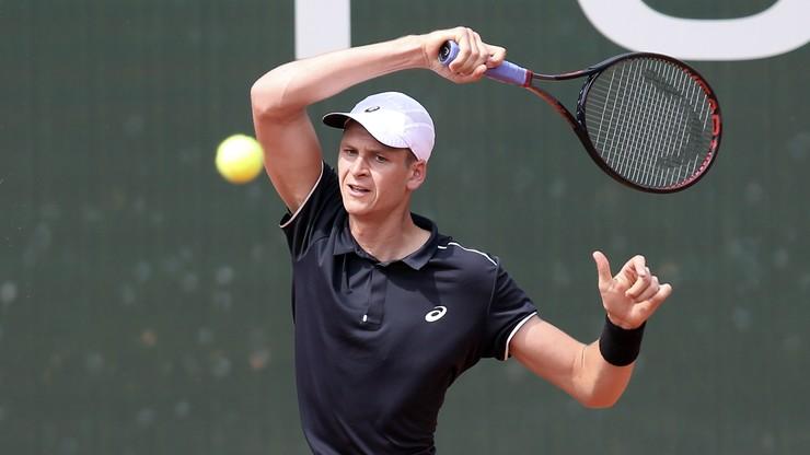 US Open: Hurkacz w ostatniej rundzie eliminacji
