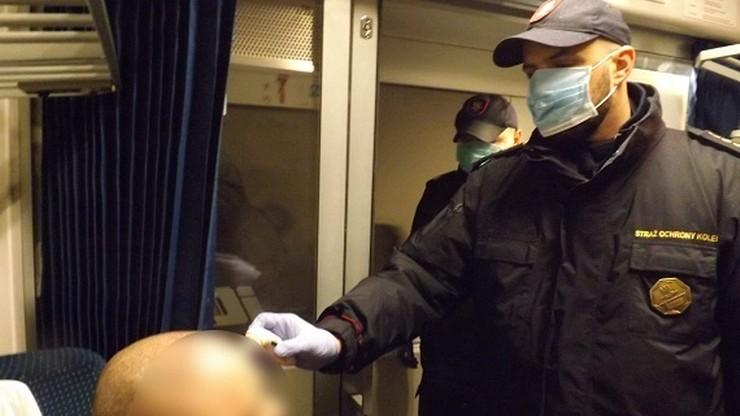 Ruszyły kontrole sanitarne w pociągach. Wiele połączeń zostanie zawieszonych