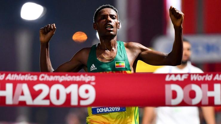 MŚ Doha 2019: Afrykańskie podium w maratonie, dramat Hawkinsa