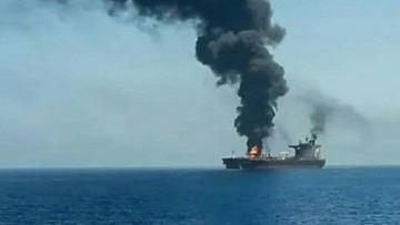 """Zamach na tankowiec na Morzu Arabskim. Będzie """"stanowcza odpowiedź Izraela"""""""