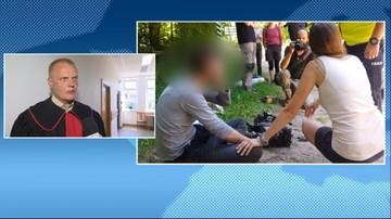 Dwa miesiące aresztu dla ojca i syna podejrzanych o atak na operatora Polsat News. Złożyli sprzeczne zeznania