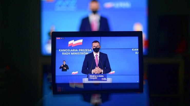 Kolejne obostrzenia w Polsce. Premier przedstawi w środę nowe informacje