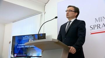 Ziobro: jestem przekonany, że prezydent poprze reformę KRS