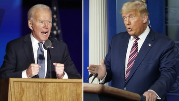 Biden wyprzedził Trumpa w kluczowych stanach