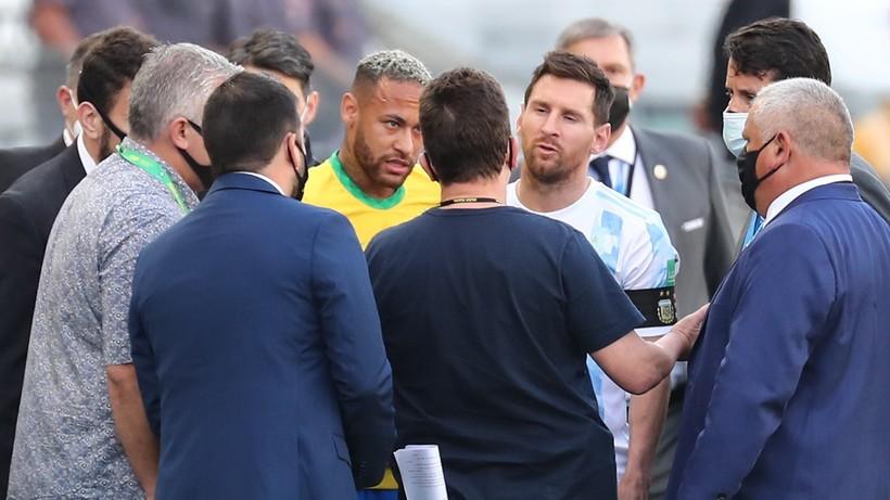 FIFA wszczęła dochodzenie w sprawie meczu Brazylii z Argentyną