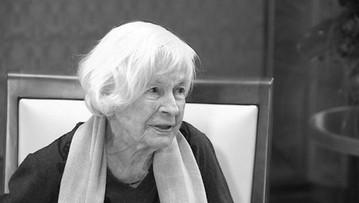 Zmarła Danuta Szaflarska. Miała 102 lata